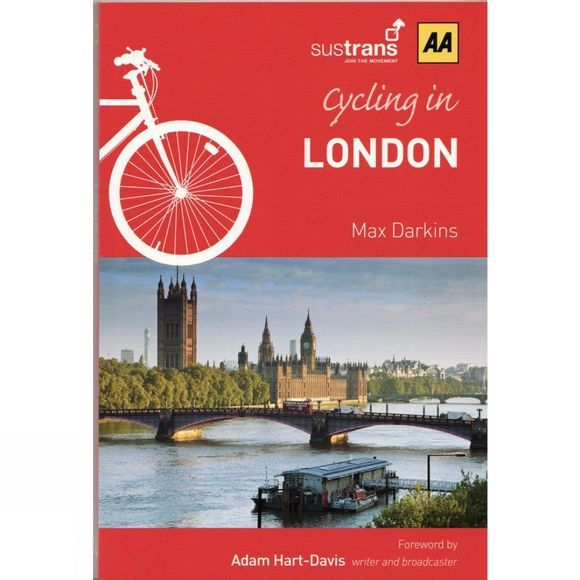 AA Publishing Cordee London Cycling Guide No Colour