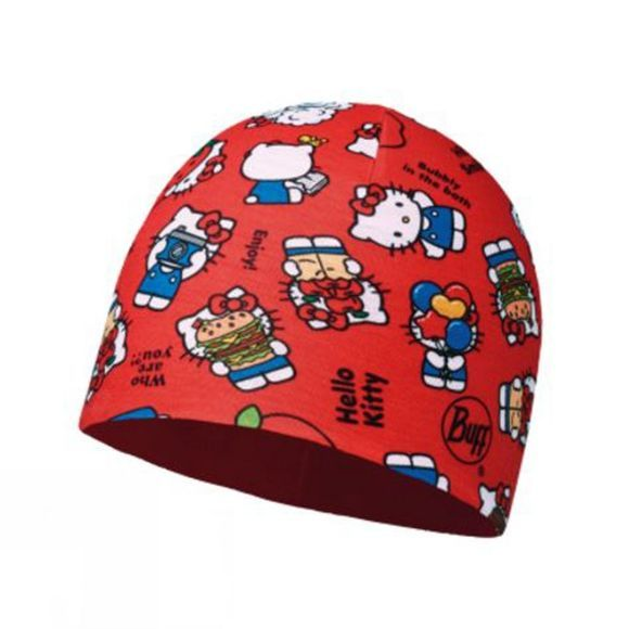 Children's Microfibre and Polar Hat Hello Kitty
