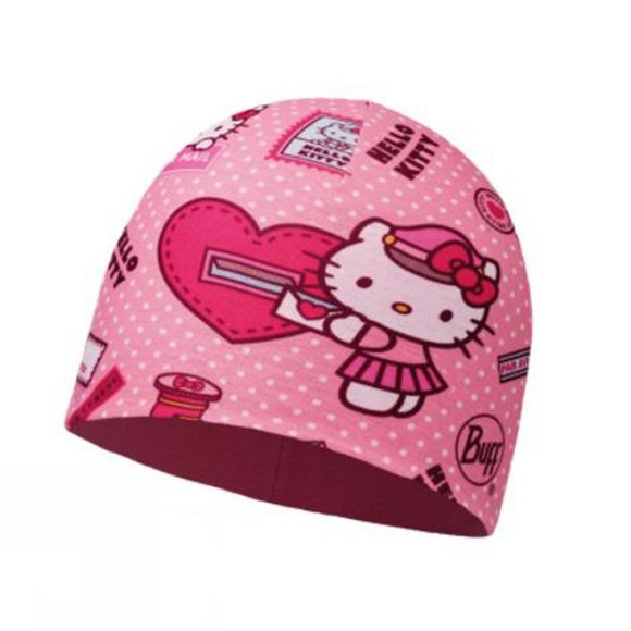 Buff Children's Microfibre and Polar Hat Hello Kitty  Mailing Rose / Paloma Pink