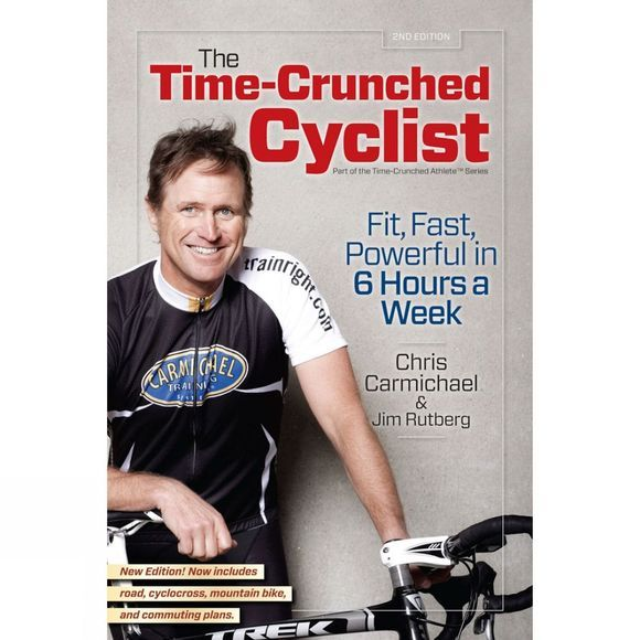 Velo Press The Time Crunched Cyclist No Colour