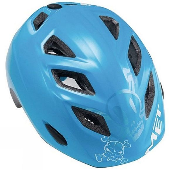 MET Kids Elfo Blue Jolly Roger Helmet Blue