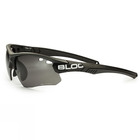 Bloc Titan Single Lens Sunglasses Black/Photochromic Grey