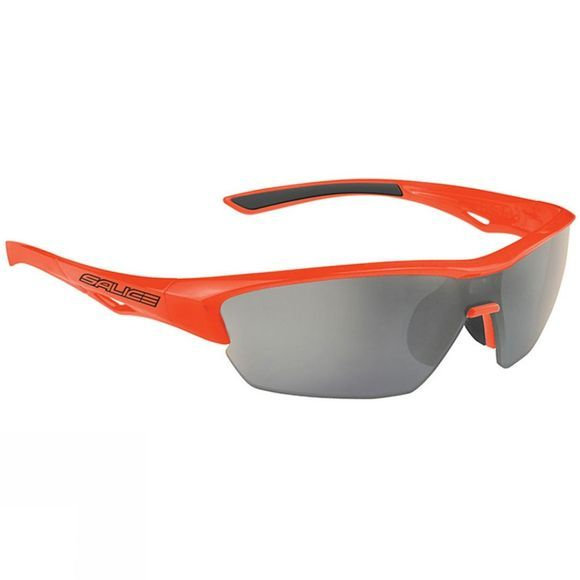 Salice 011 Glasses With Photochromic CRX Smoke Lens And Spare Orange Lens Orange