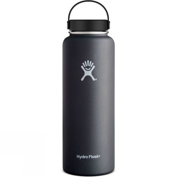 Hydro Flask Wide Mouth 40oz Flask Black