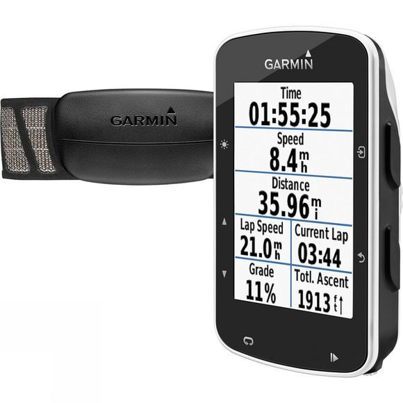Garmin Edge 520 GPS HRM Bundle .