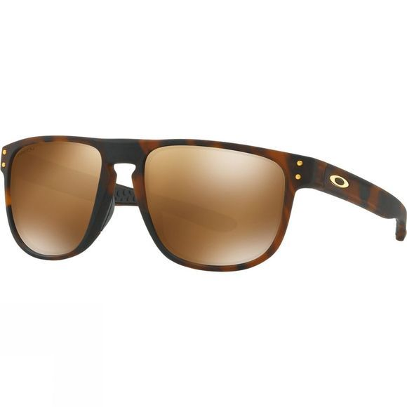 Oakley Holbrook R Prizm Sunglasses Matt Dark Brown Tortoise/Prizm Tungsten Polarised Iridium
