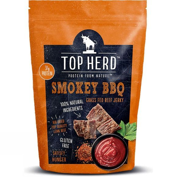 Top Herd Smokey BBQ Beef Jerky 70g .