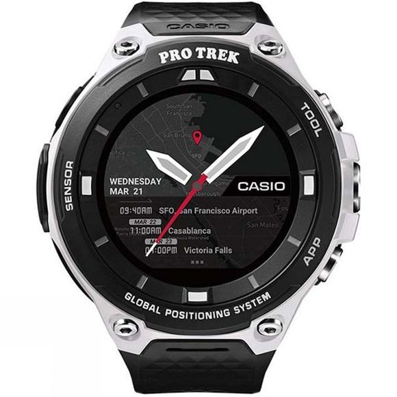 Casio Pro Trek Smart Watch WSD-F20 White