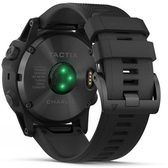 Garmin Tactix Charlie GPS Watch Black