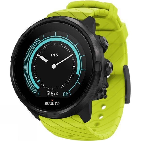 Suunto 9 GPS Multisport Watch Black/Lime