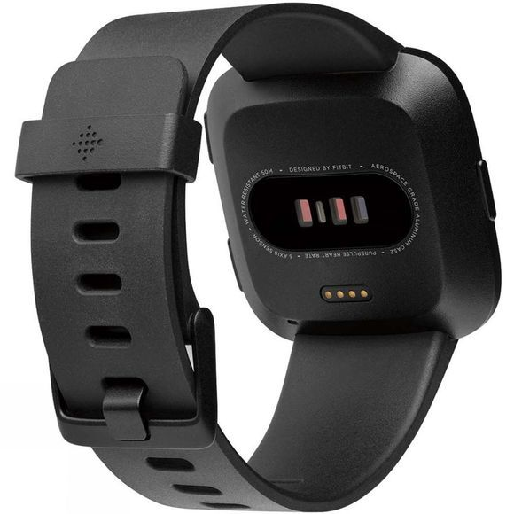 Fitbit Versa Watch Black/Black Aluminium