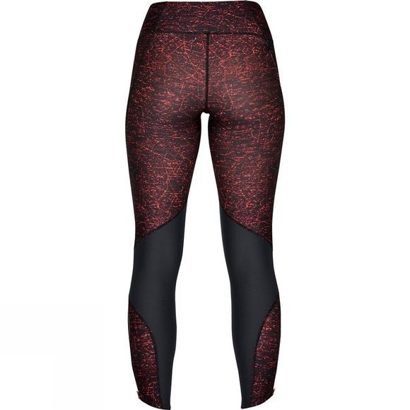 Under Armour Women's Armour Fly Fast Printed Tight Black/After Burn