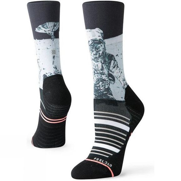 Stance Women's Anti-Gravity Crew Black