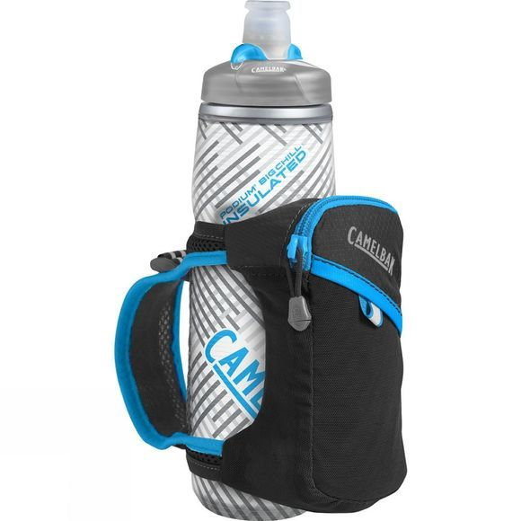 CamelBak Quick Grip Chill Bottle Black / Atomic Blue