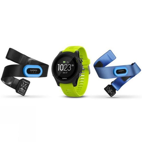 Garmin Forerunner 935 Watch Tri-Bundle Black/Force Yellow