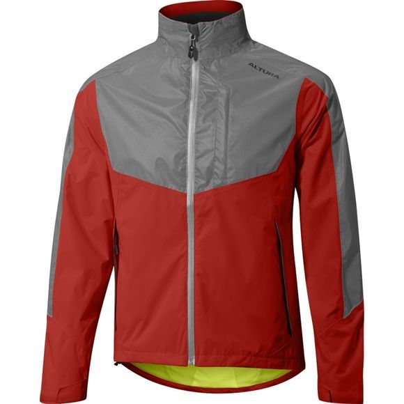 Altura Mens Nightvision Evo 3 Jacket Fiery Red