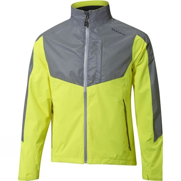 Altura Mens Nightvision Evo 3 Jacket Hi Viz Yellow/Charcoal