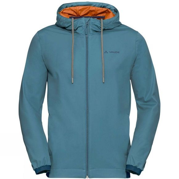 Vaude Mens Cyclist Softshell Jacket Blue Gray