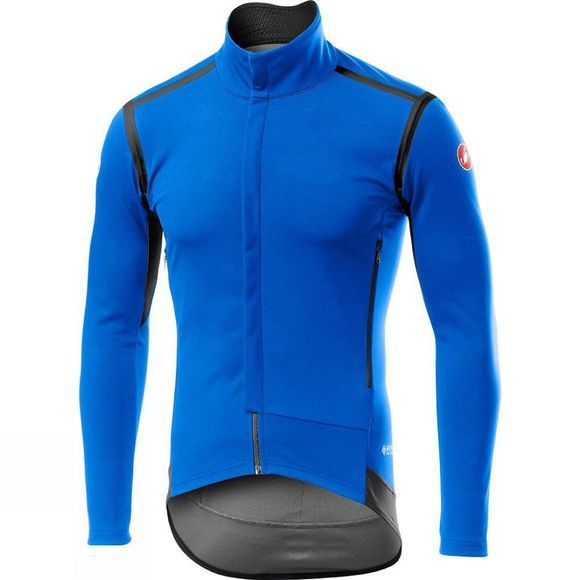 Castelli Mens Perfetto RoS Long Sleeve Jacket Drive Blue