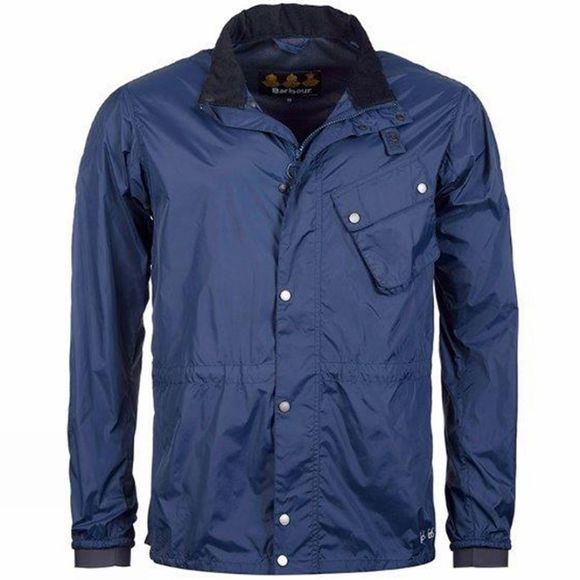 Barbour Mens Newham Jacket Dark Blue