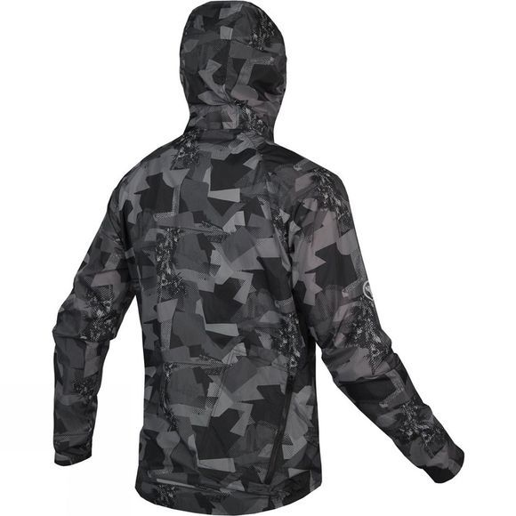 Endura Mens SingleTrack DuraJak Jacket Grey Camo