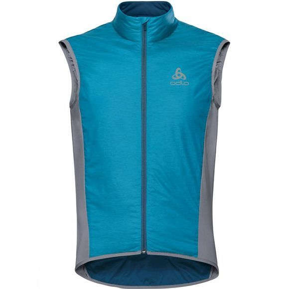 Odlo Mens Zeroweight X-warm Vest Blue