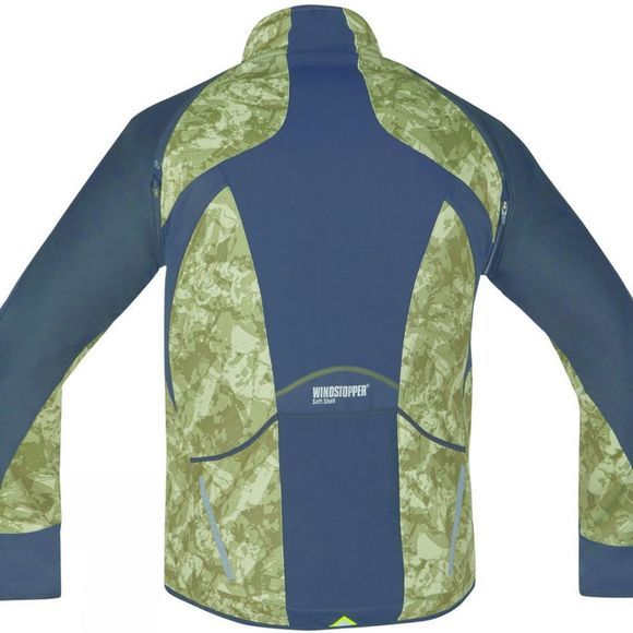 Gore Bikewear Phantom Print 2.0 Windstopper Soft Shell Jacket Camouflage