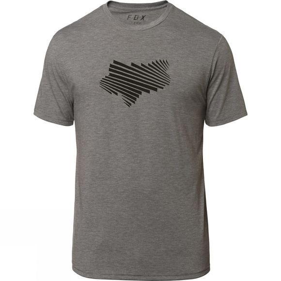 Fox Mens Clash Tech Tee Grey