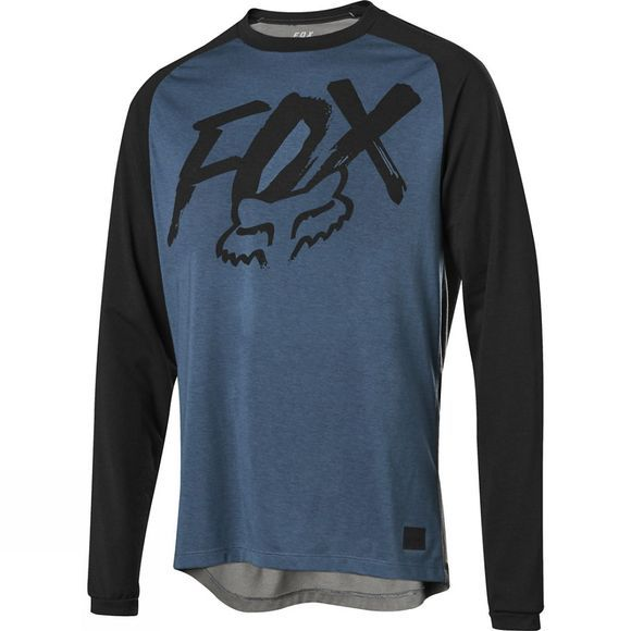 Fox Mens Ranger Dri-Release Fox Jersey Blue