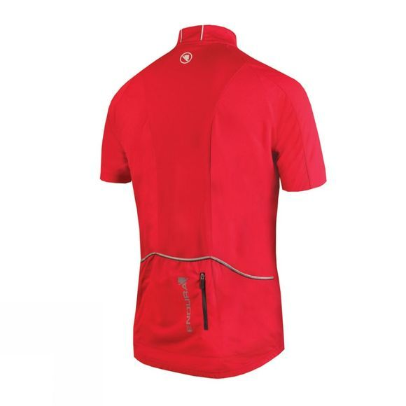 Endura Xtract Short Sleeve Jersey Red