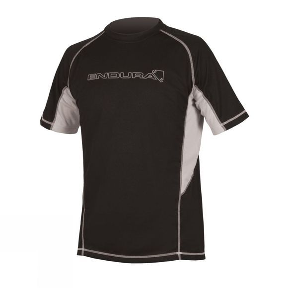 Endura Mens Cairn Short Sleeved Technical T-Shirt Black / None