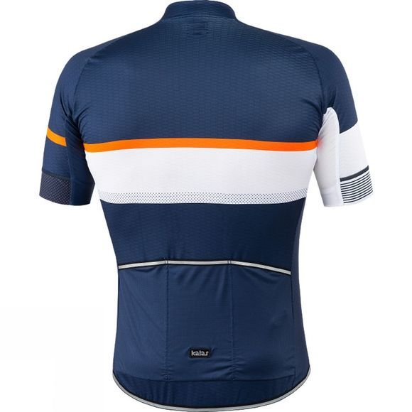 Kalas Mens Passion X9 Short Sleeve Jersey Blue/ Orange