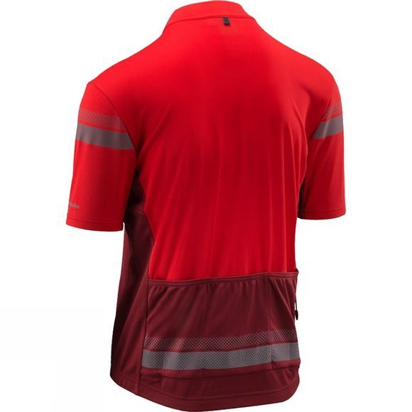 Altura Mens Nightvision Short Sleeve Jersey Red