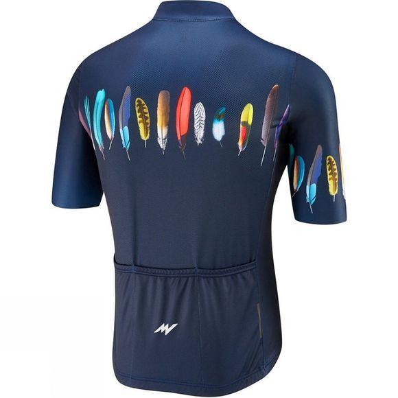 Morvelo Mens Plume Too Standard Short Sleeve Jersey Navy