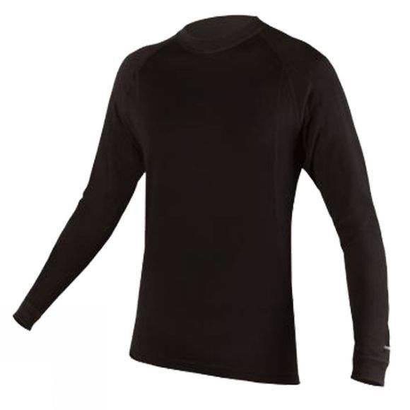 Endura Mens Baa Baa Merino Long Sleeve Base Layer Black / None