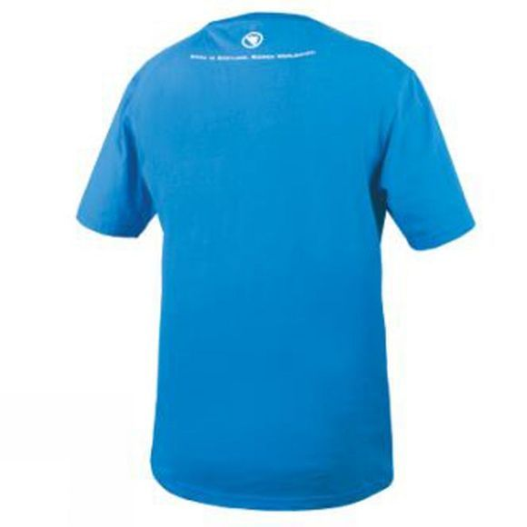Endura Men's Stripe Tee Ocean