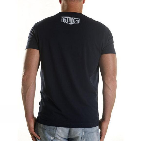 Cycology DNA Mens Tee Navy