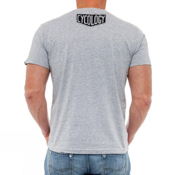 Cycology Rather be Riding Mens Tee Grey