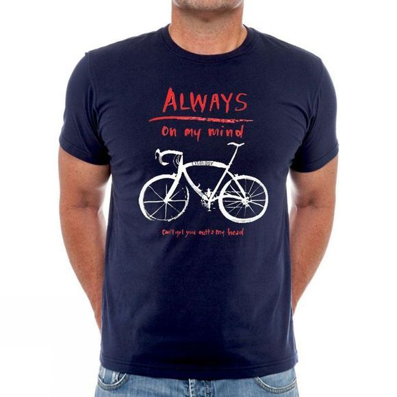Cycology Always on my Mind Mens Tee Navy
