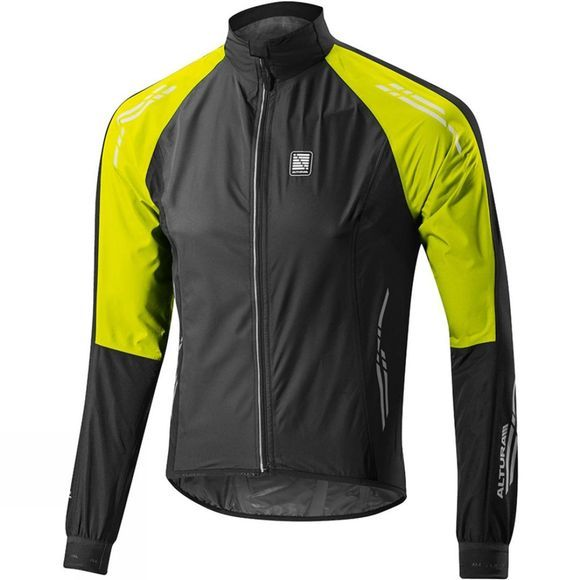 Altura Altura Podium Nightvision Waterproof Jacket Black          /Bright Green