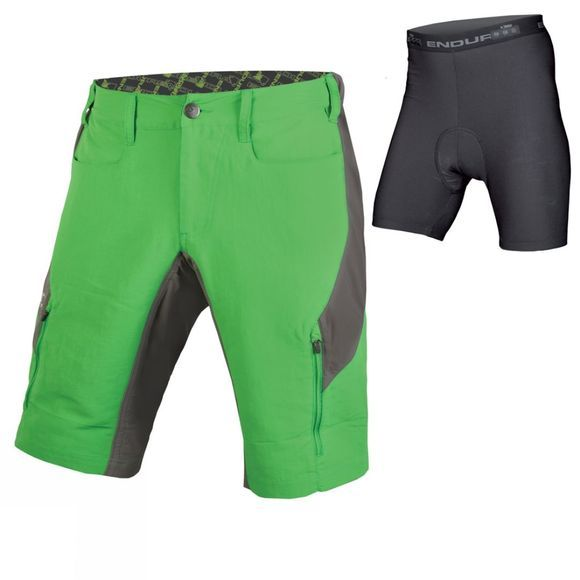 SingleTrack III Shorts with Liner