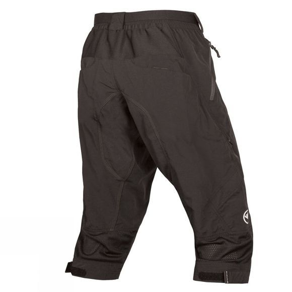 Endura Mens Hummvee II 3/4 Shorts Black