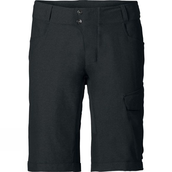 Vaude Mens Tremalzo Cycling Shorts II Black