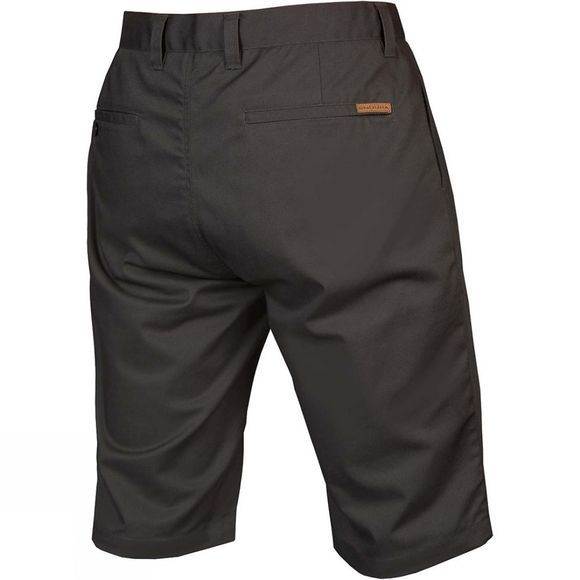 Endura Mens Hummvee Chino Short with Liner Grey