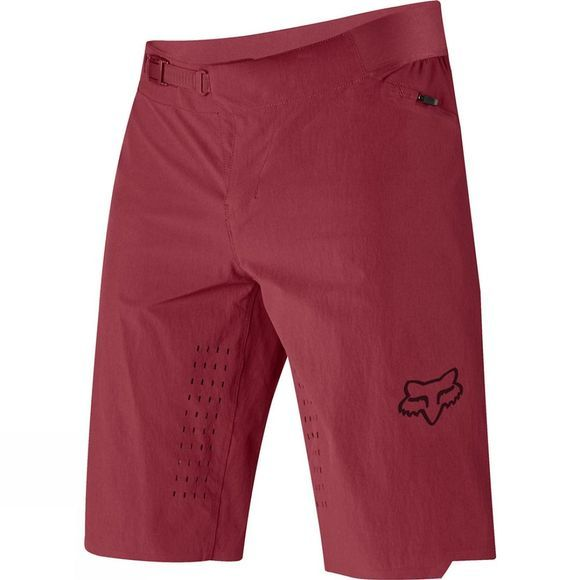 Fox Mens Flexair Short - No Liner Red