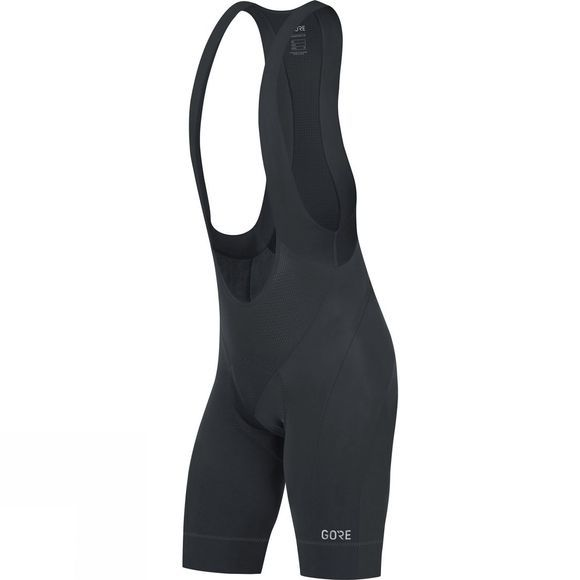 Gore Bikewear Mens C5 Bib Shorts + Black