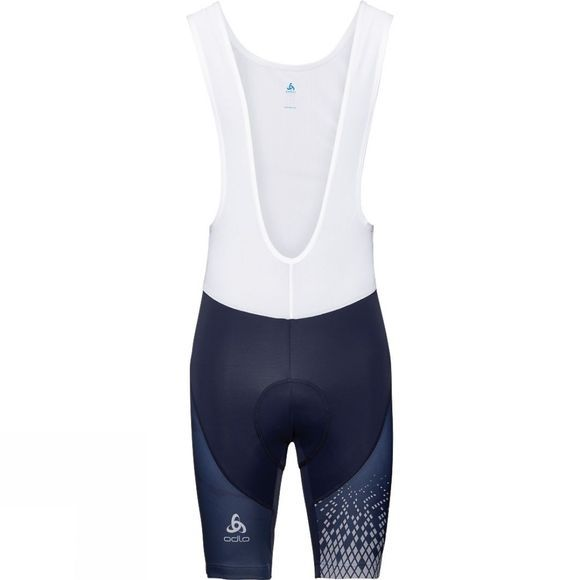 Odlo Mens Active Bib Shorts Navy