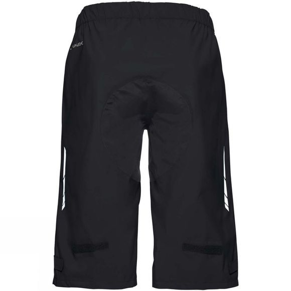 Vaude Mens Moab Rain Shorts Black