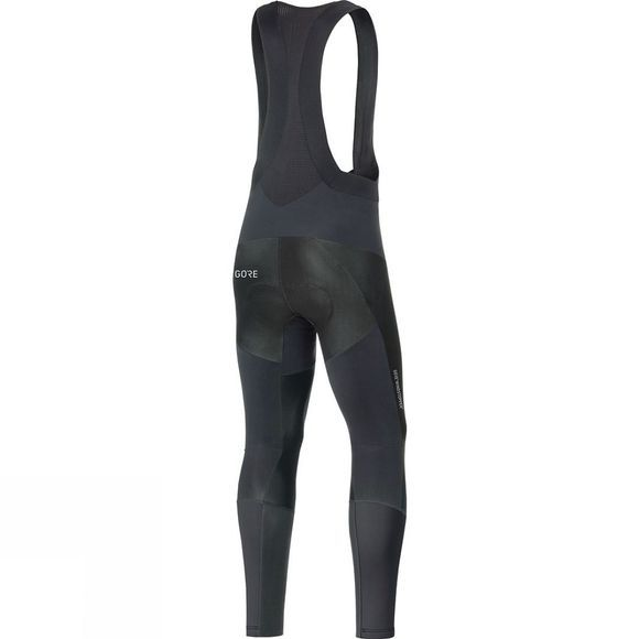 Gore Bikewear Mens Partial Windstopper Pro Bib Tights+ Black