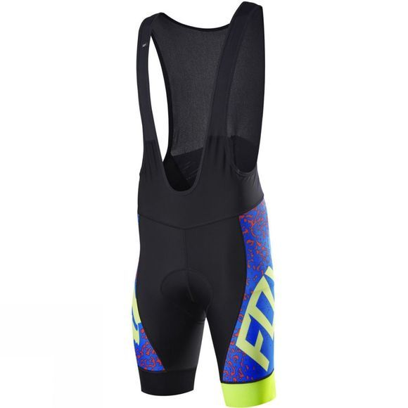 Fox Clothing  Men's Ascent Comp Bib Short BLUE